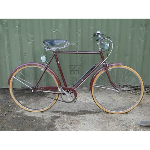Maroon Bicycle