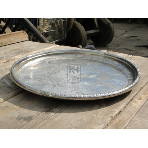 Silver tray number 1