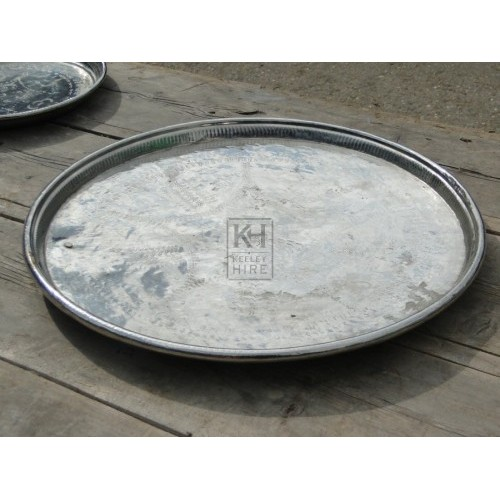Silver tray number 3