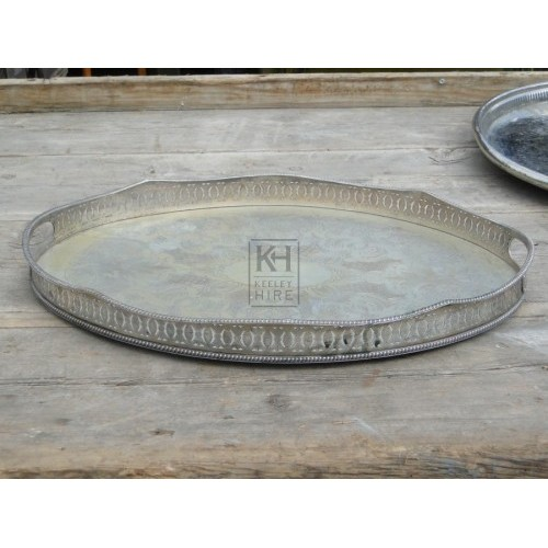 Silver tray number 4