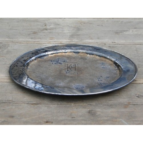 Silver tray number 5