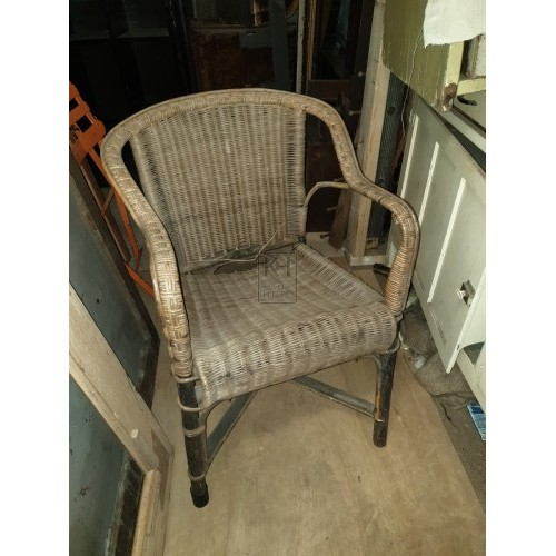 Rattan Wicker Armchair