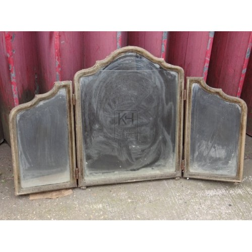 Hinged Dressing Table Mirrors