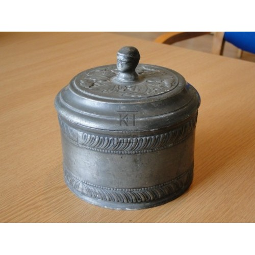 Pewter Pot with Lid