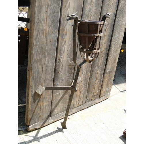 Wall Mounted Swivel Basket Flambeaux