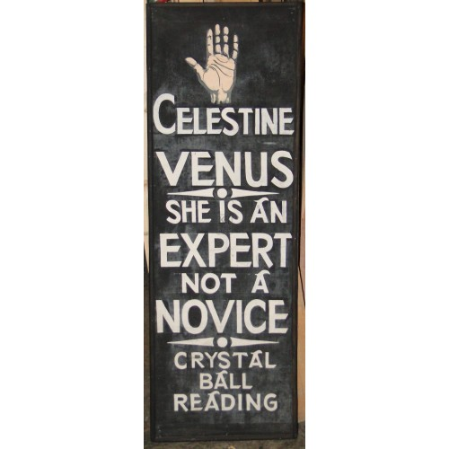Fortune Teller Sign Celestine Venus