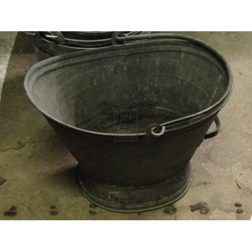 Galvanised Rustic Pouring Pail