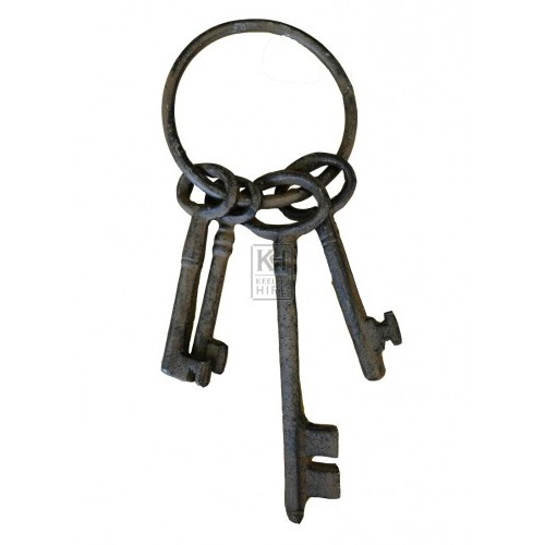 Ring of iron keys