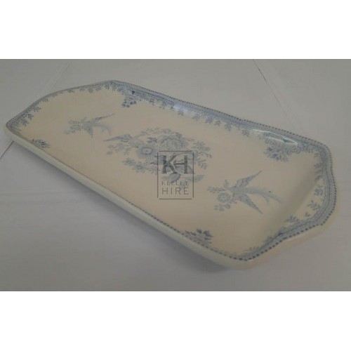 China rectangle tray