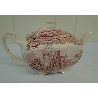 Patterned Tea pot