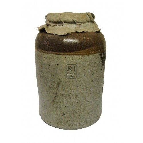 Storage jar with top