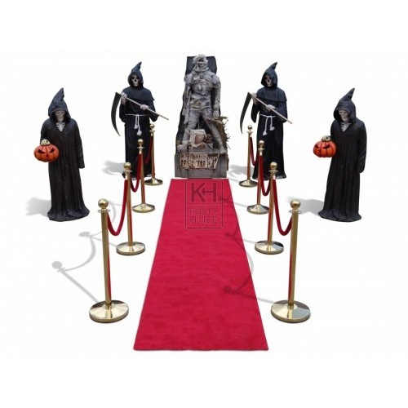 Halloween themed entrance 1