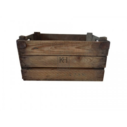 Triple Slat Crate