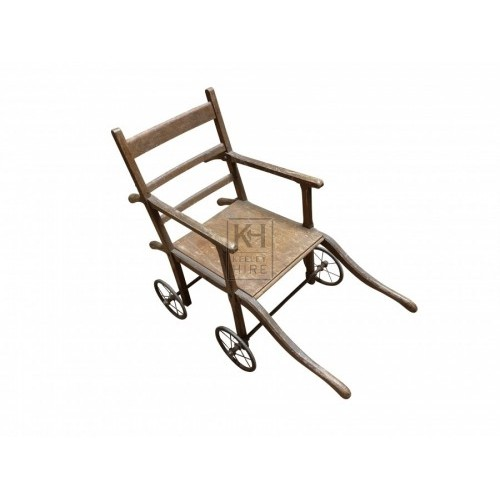 Early wood wheelchair