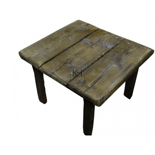 Rustic squared Low Table