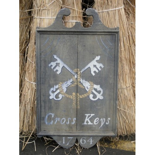 The Cross Keys Pub Sign