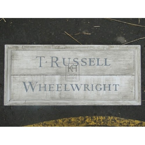 T Russell Wheelwright