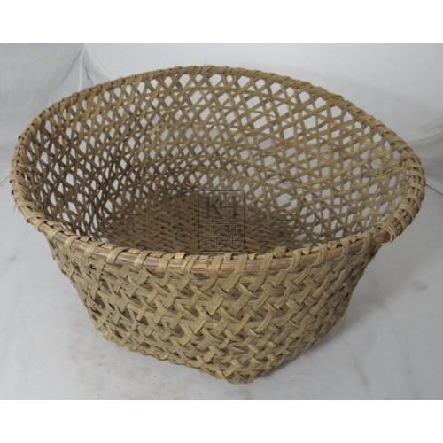 Open weave large basket