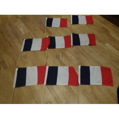 Small French Flags