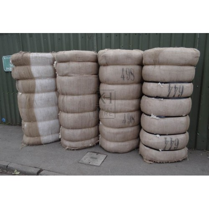 Large cotton bales