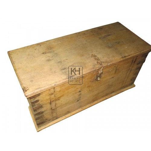 Plain Wooden Chest