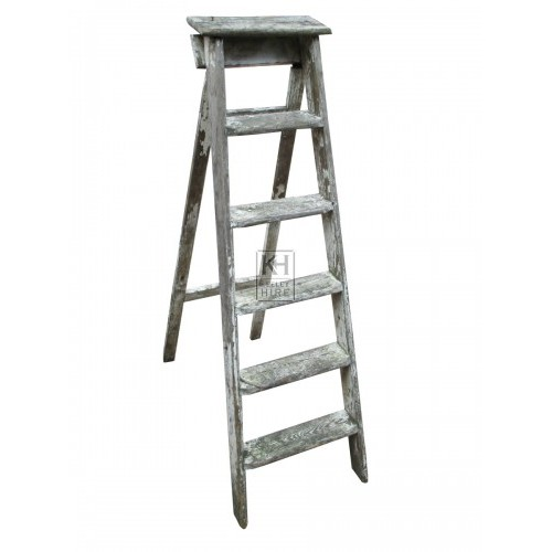 Rustic Wooden Step Ladder