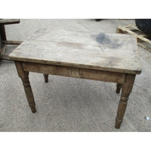 Small Light Wood Table