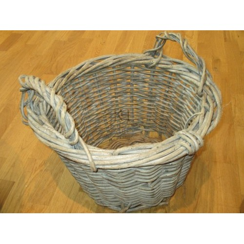 Medium Large Wicker Farm Basket