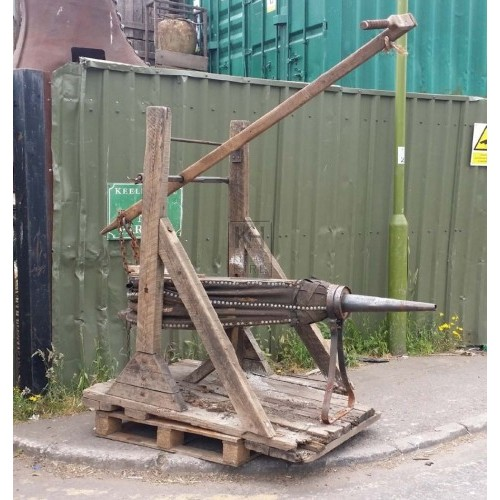 Large pearshape bellows & stand