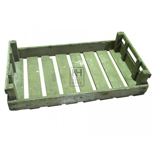 Slatted Wooden Crates