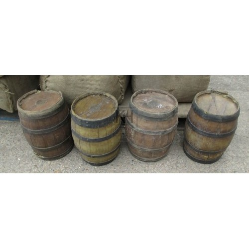 Small rubber barrels