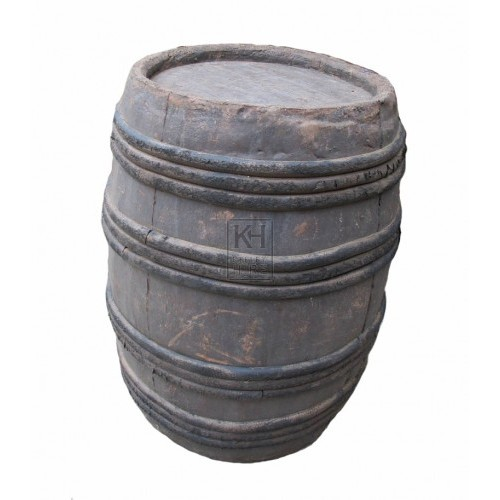 Medium rubber barrel