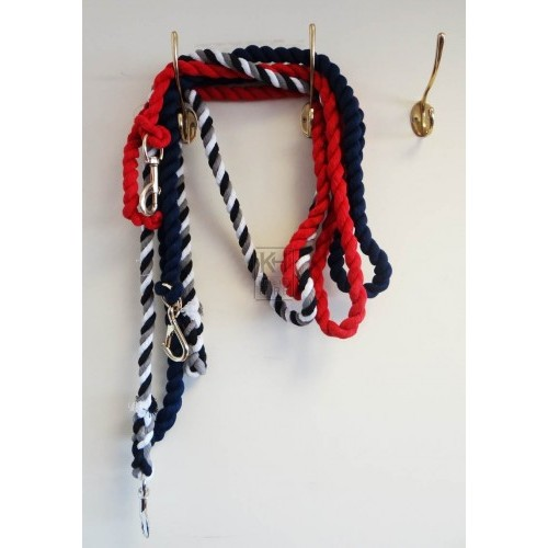Assorted lead ropes