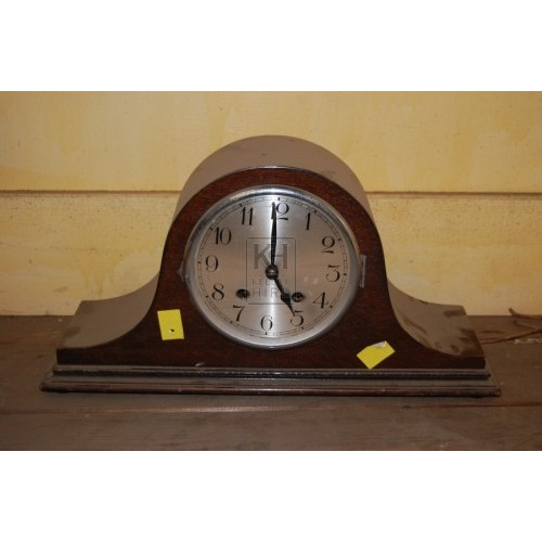 Woden Mantlepiece Analogue Clock