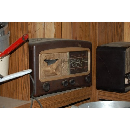 Brown 50s Radio