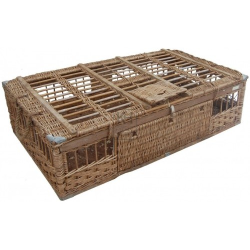 Wicker Sealable Basket