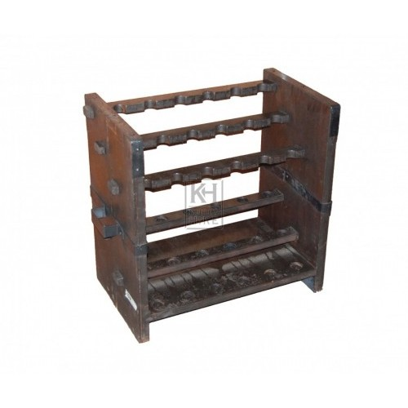 Wood Weapons Rack