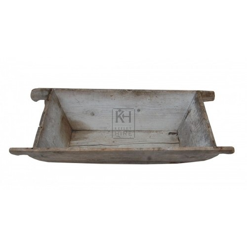 Wooden Trough with Handles