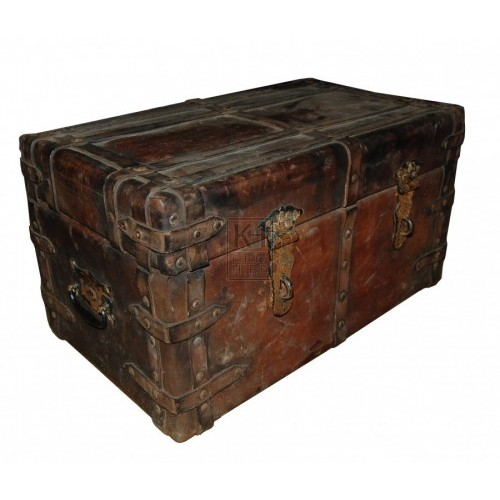 Ornate Leather Chest