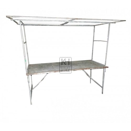 Metal Market Stall with Folding Legs