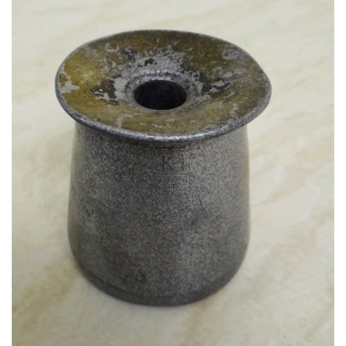 Small silver inkwell