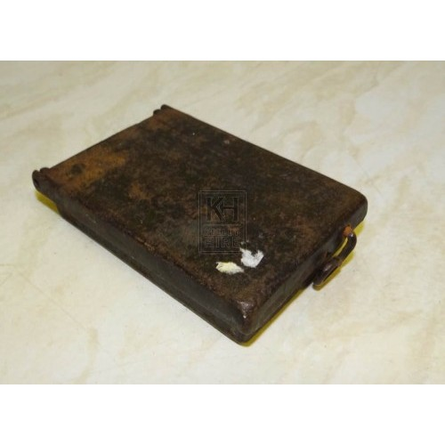Rectangle iron tinder box