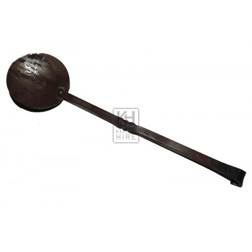 Long Twisted iron spoon