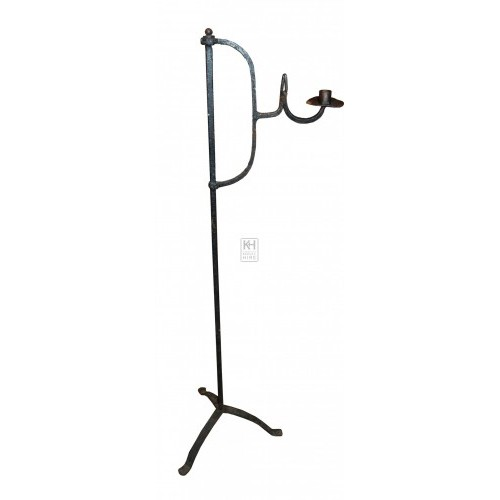 Tall Iron Candleholder # 2