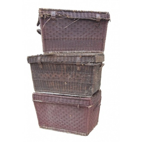 Large Rectangle Basket with Lid