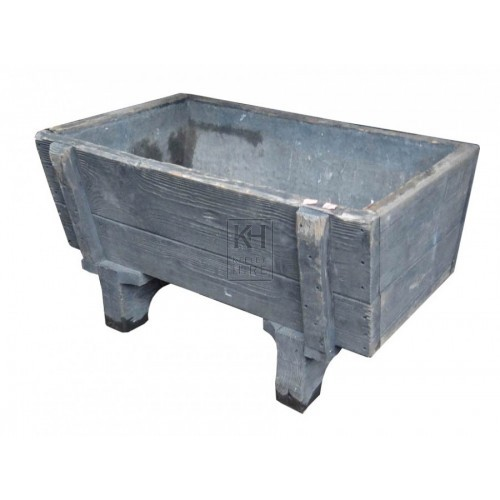 Wooden Trough on Legs