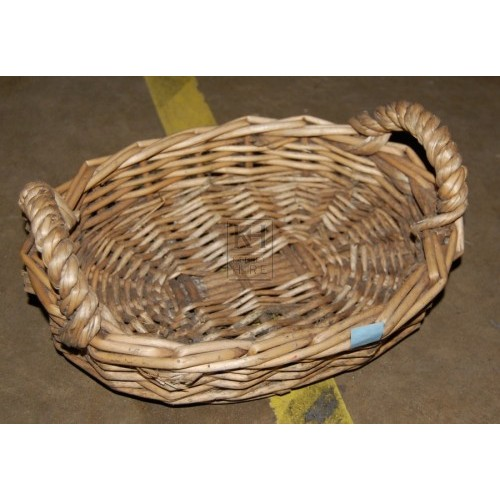 Light Small Basket with 2 Handles