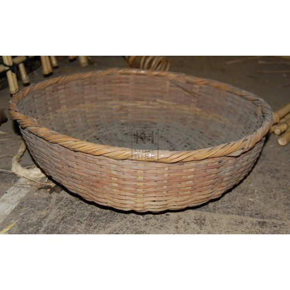 Round Woven Food Basket