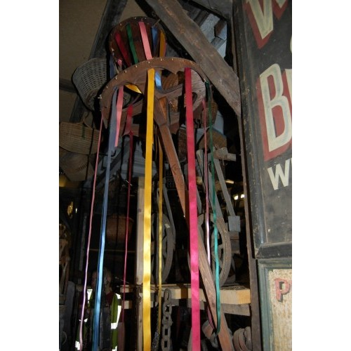 Handheld Maypole With Ribbons
