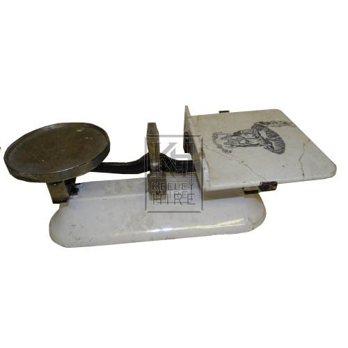 Ceramic grocers scales